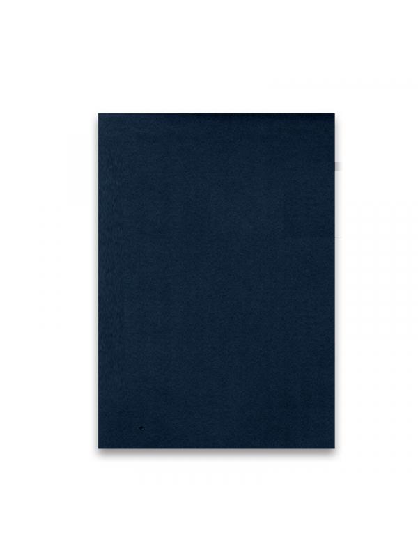 BELEŽKA A5 Z ELASTIKO - modra