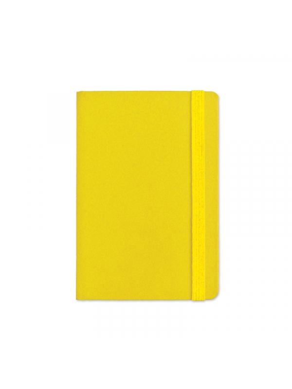 BELEŽKA A5 Z ELASTIKO - rumena