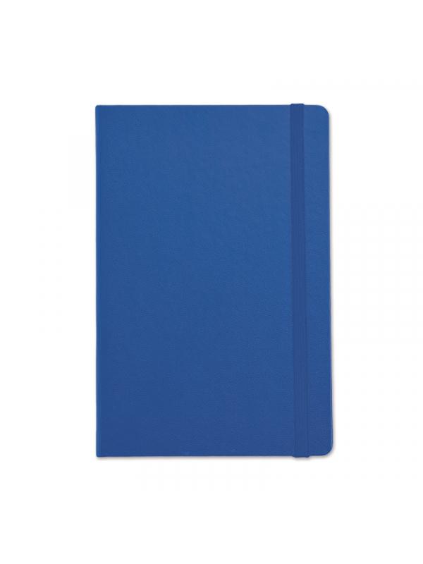 BELEŽKA B5 Z ELASTIKO - modra