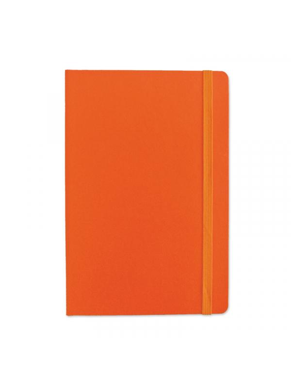 BELEŽKA B5 Z ELASTIKO - oranžna