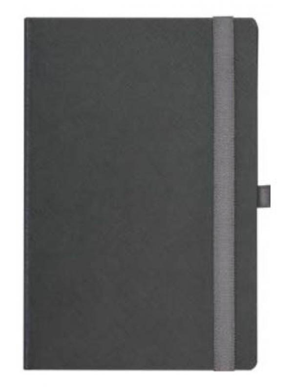 BELEŽKA B5 Z ELASTIKO - siva