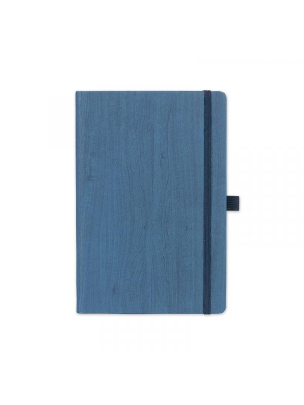 BELEŽKA A5 WOODY - modra