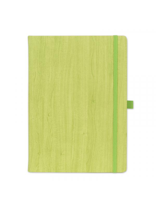 BELEŽKA B5 WOODY - zelena