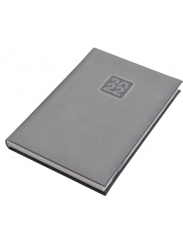 ROKOVNIK B5 DNEVNI DATUMI - DNEVNIK -  srebrna