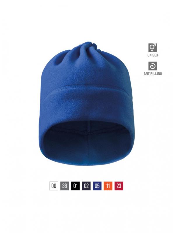 Practic Fleece Hat unisex bela uni