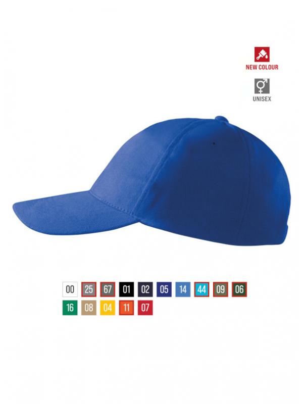 5P Cap unisex barvna uni