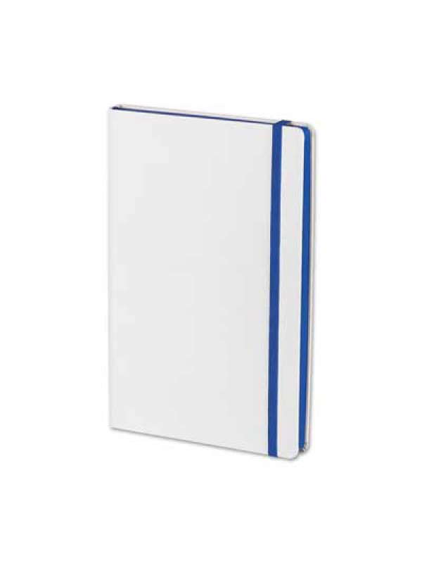 BELEŽKA A5 FLUX WHITE - modra