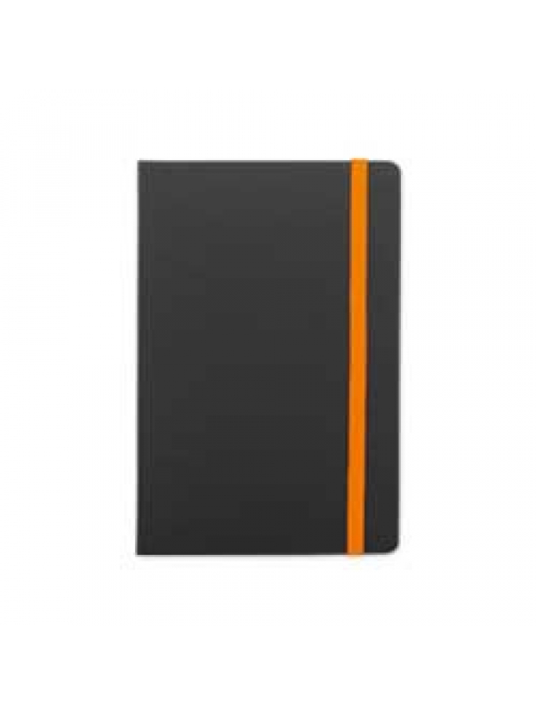 BELEŽKA A5 FLUX EDGE - oranžna