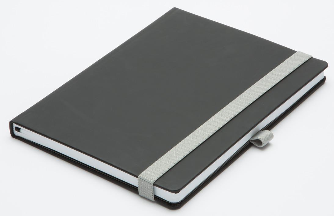 ROKOVNIK B5 MILANO - črno siva