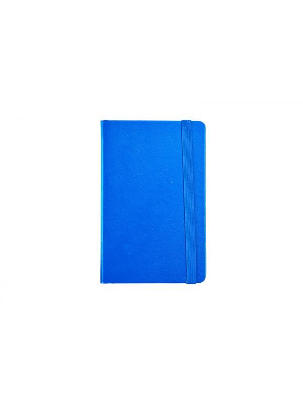 BELEŽKA A6 Z ELASTIKO - modra