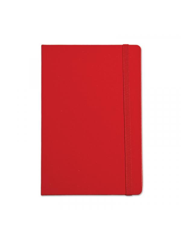 BELEŽKA B5 Z ELASTIKO - rdeča