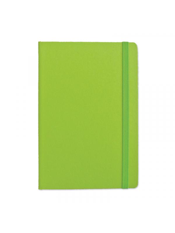 BELEŽKA B5 Z ELASTIKO - zelena