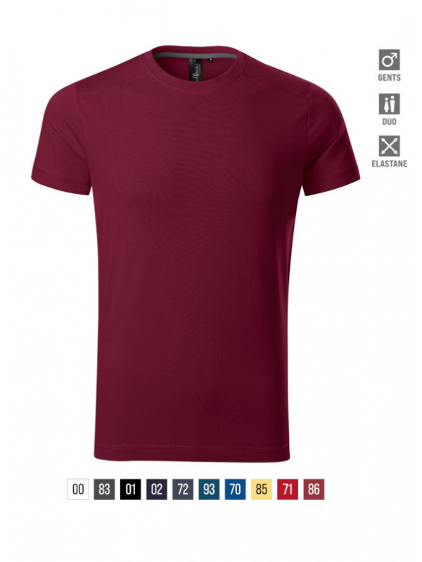 Action T-shirt Gents barvna