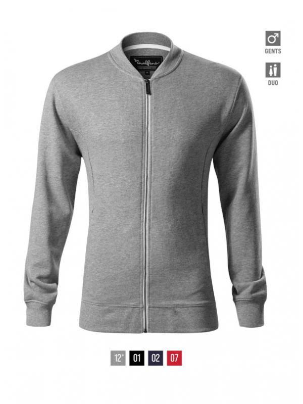 Bomber Sweatshirt Gents barvna 3XL