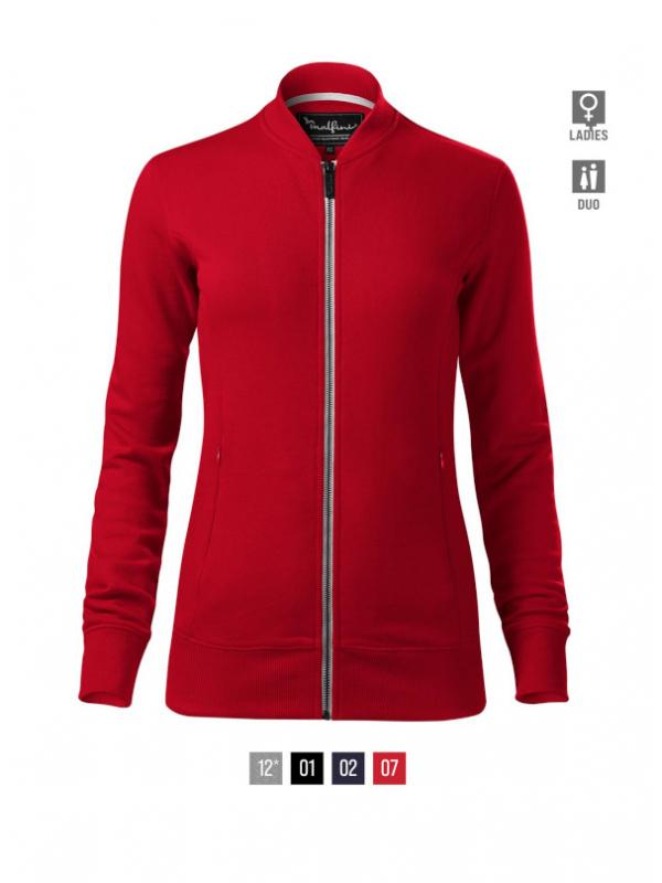 Bomber Sweatshirt Ladies barvna