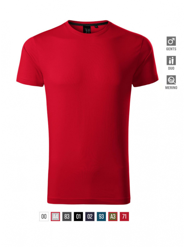 Exclusive T-shirt Gents barvna 3XL