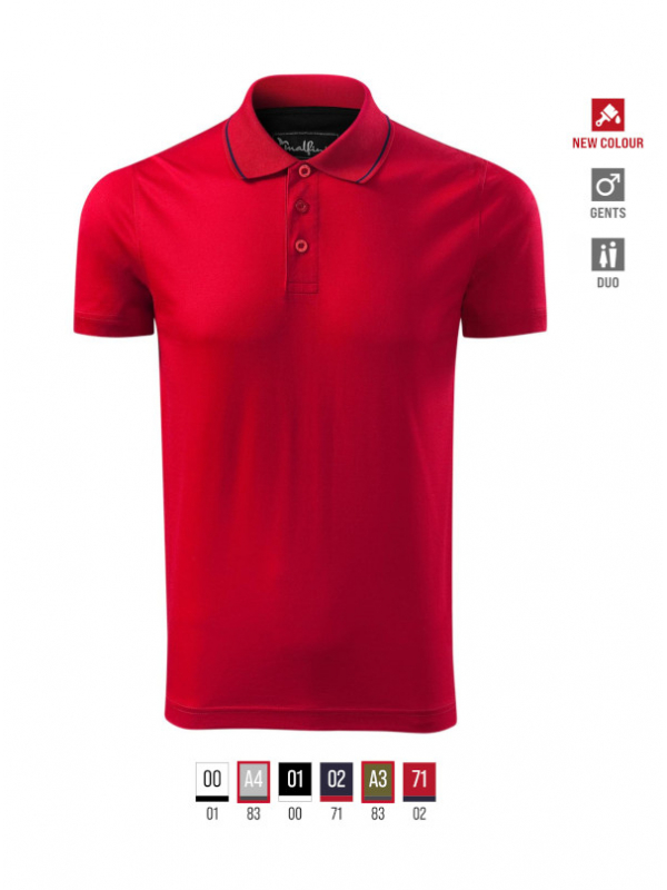 Grand Polo Shirt Gents bela 3XL