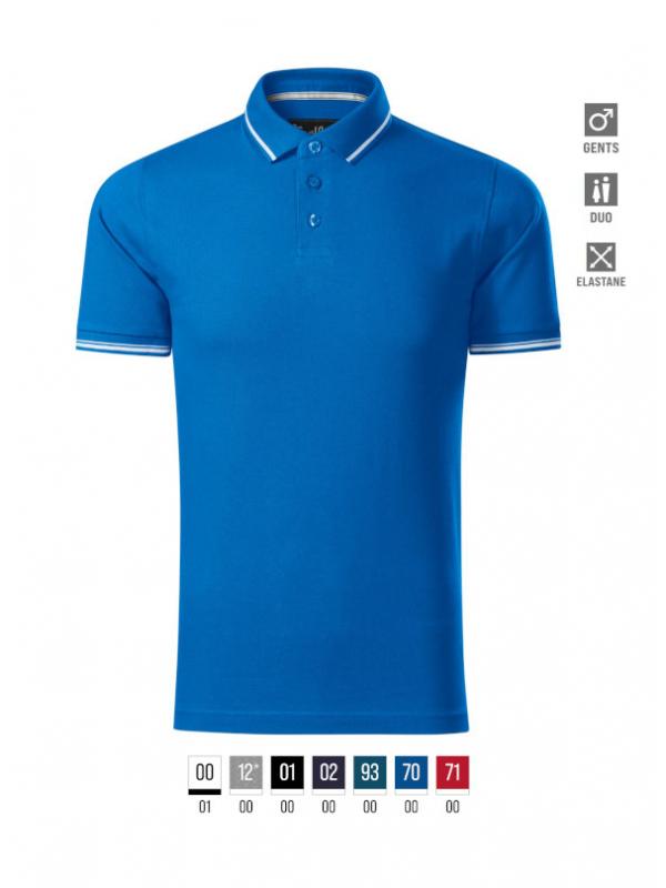 Perfection plain Polo Shirt Gents bela
