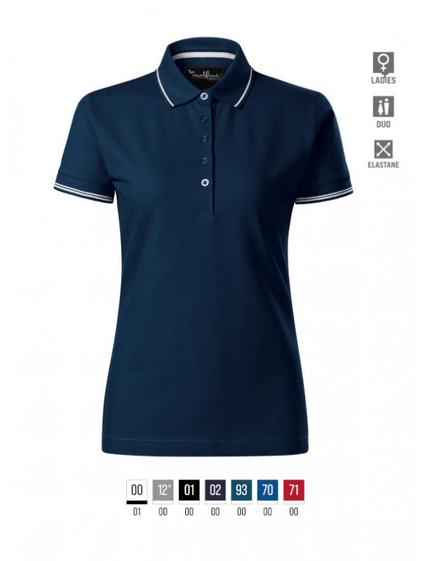 Perfection plain Polo Shirt Ladies barvna