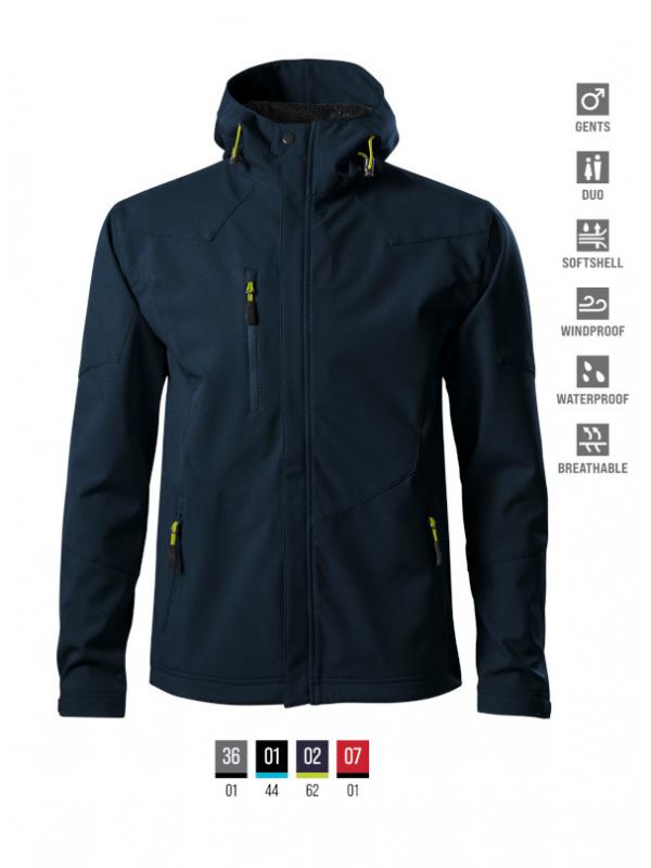 Nano Softshell Jacket Gents barvna 3XL