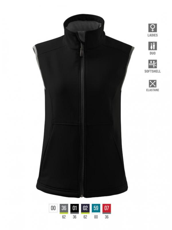 Vision Softshell Vest Ladies bela