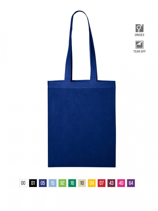 Bubble Shopping Bag unisex barvna