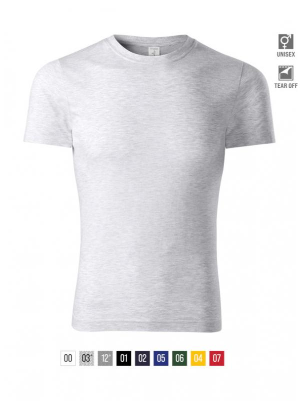 Peak T-shirt unisex bela 3XL
