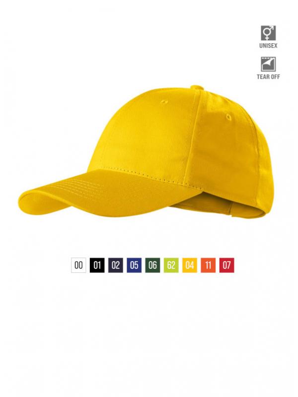 Sunshine Cap unisex bela uni