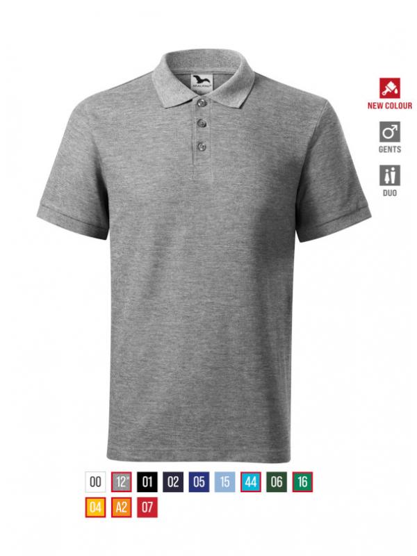 Cotton Heavy Polo Shirt Gents bela 3XL