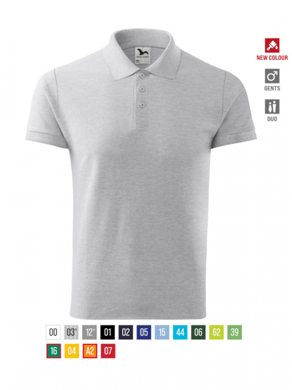 Cotton Polo Shirt Gents barvna