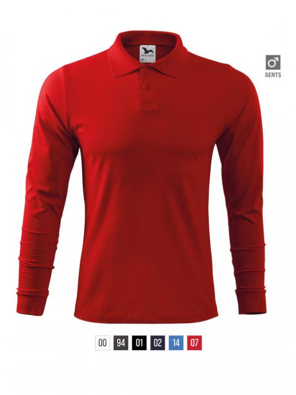 Single J. LS Polo Shirt Gents barvna