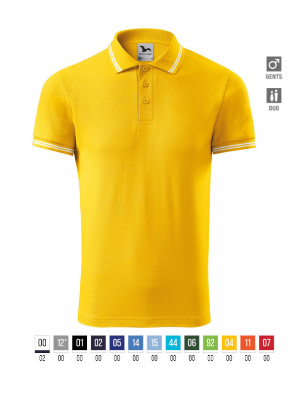 Urban Polo Shirt Gents barvna 3XL