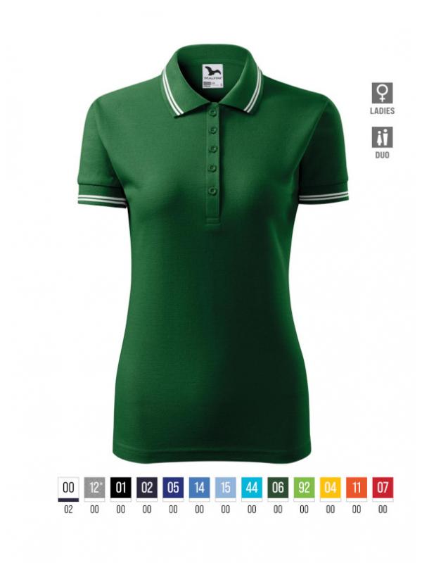 Urban Polo Shirt Ladies bela