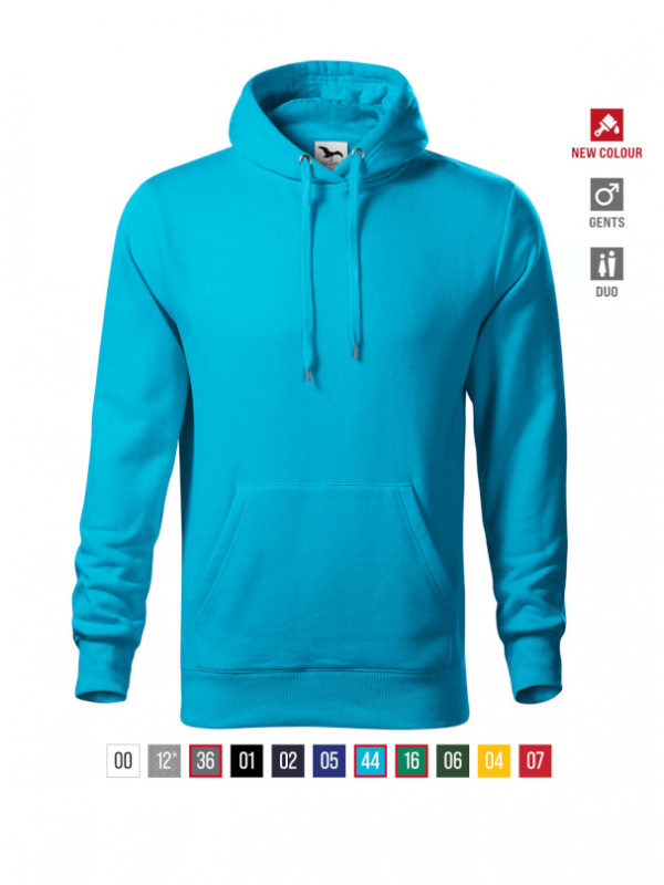 Cape Sweatshirt Gents bela 3XL