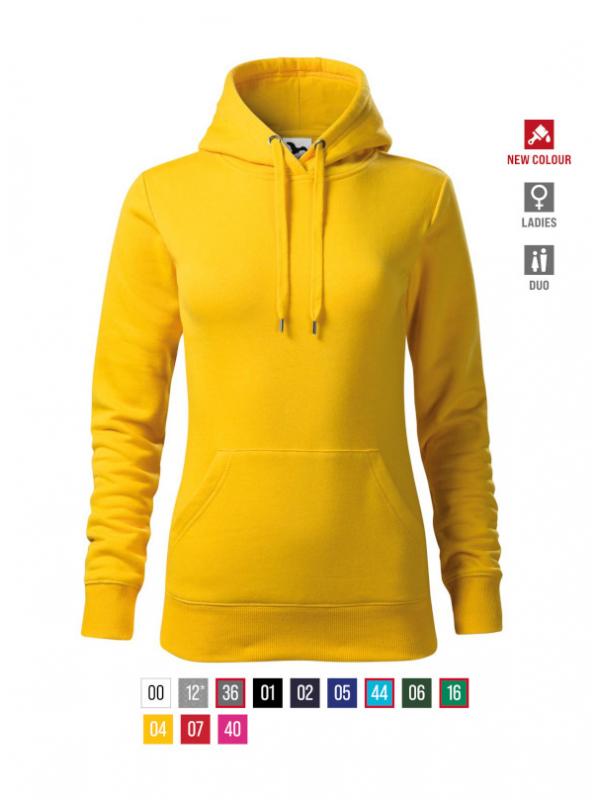 Cape Sweatshirt Ladies barvna