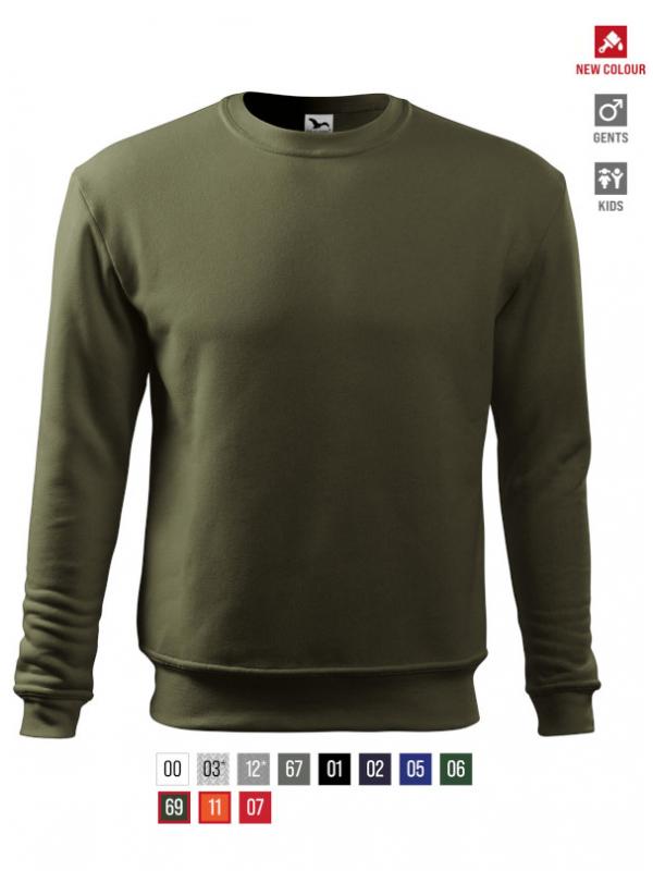 Essential Sweatshirt Gents/Kids barvna 3XL