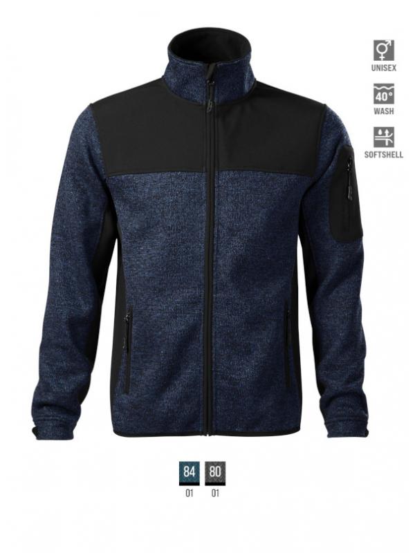 Casual Softshell Jacket Gents barvna 3XL