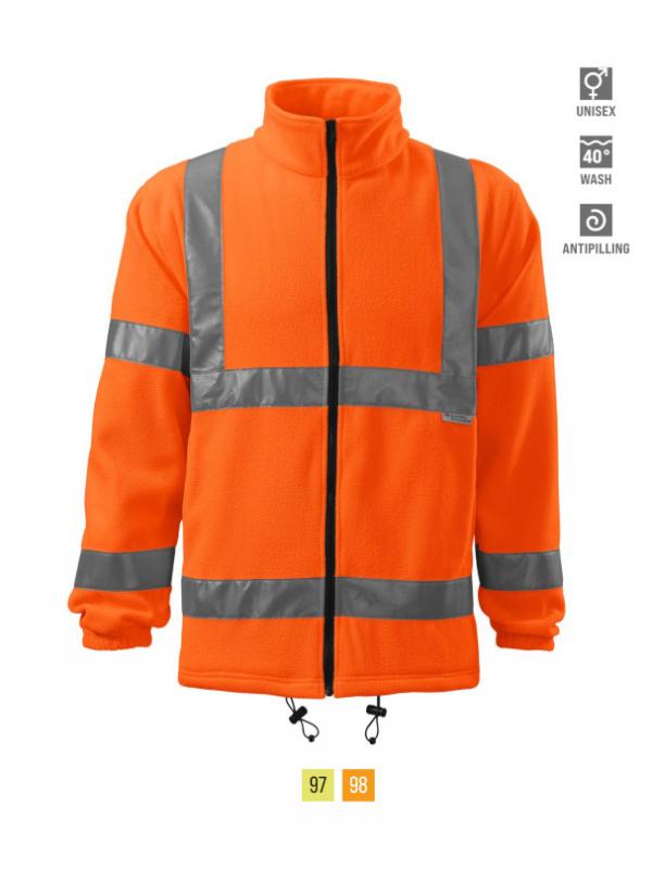 HV Fleece Jacket Fleece unisex barvna 3XL