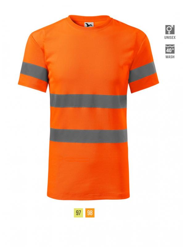 HV Protect T-shirt unisex barvna