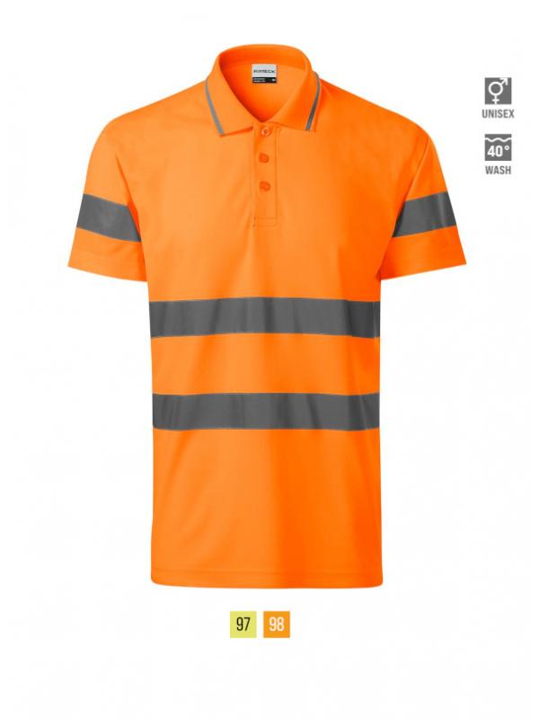 HV Runway Polo Shirt unisex barvna