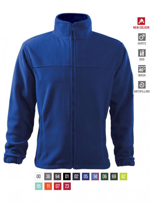 Jacket Fleece Gents bela 3XL