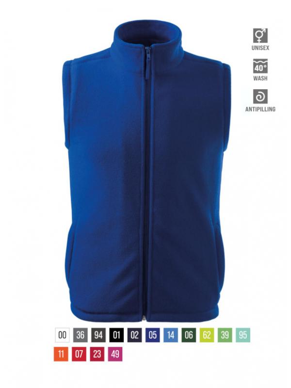 Next Fleece Vest unisex barvna 3XL