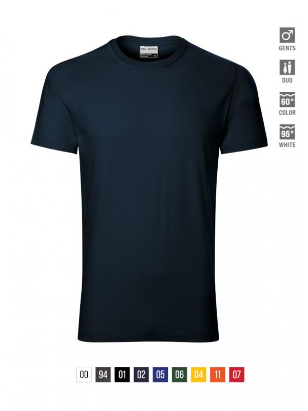 Resist heavy T-shirt Gents bela 4XL