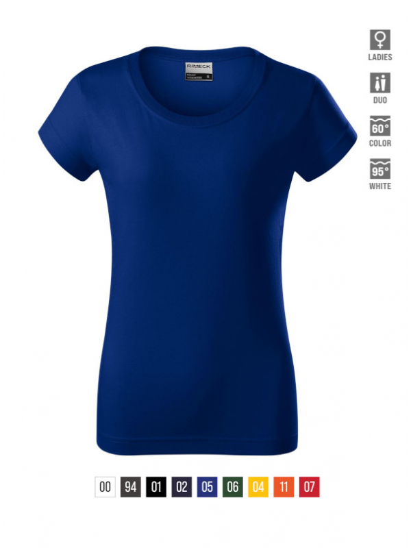 Resist heavy T-shirt Ladies barvna