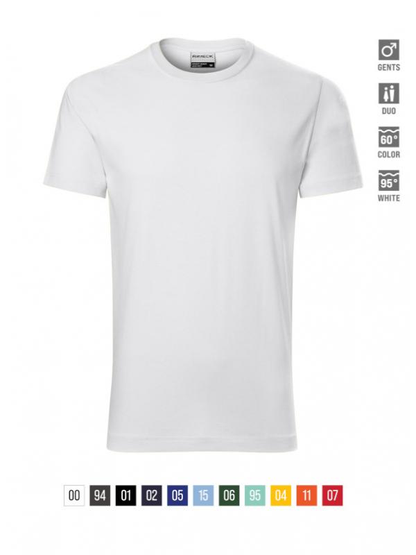 Resist T-shirt Gents bela 4XL
