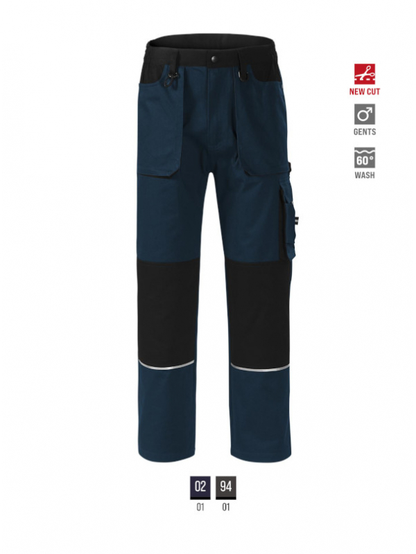 Woody Work Trousers Gents barvna