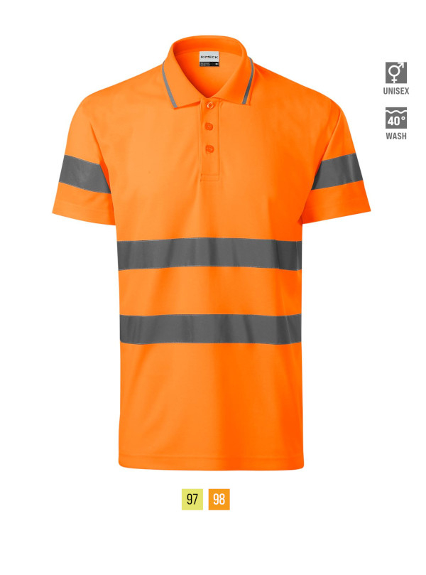HV Runway Polo Shirt unisex barvna 3XL