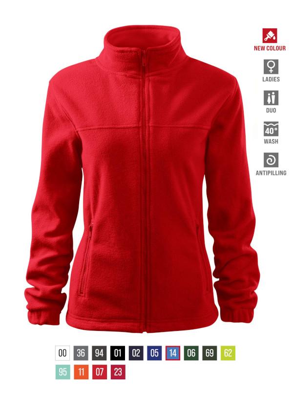 Jacket Fleece Ladies barvna