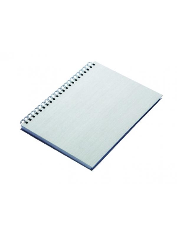 ROKOVNIK KAŠMIR A5 špiralni, siv