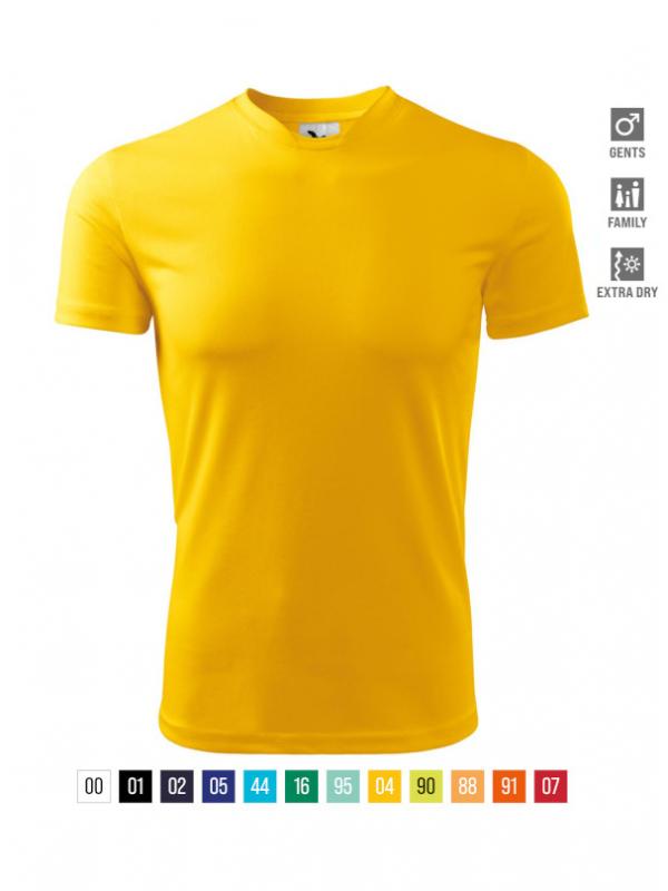 Fantasy T-shirt Gents bela 3XL